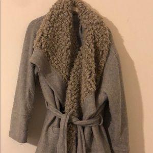Faux fur Free People coat